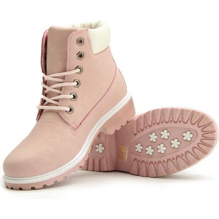 24c8fcc510eb57 chaussures lacets femme