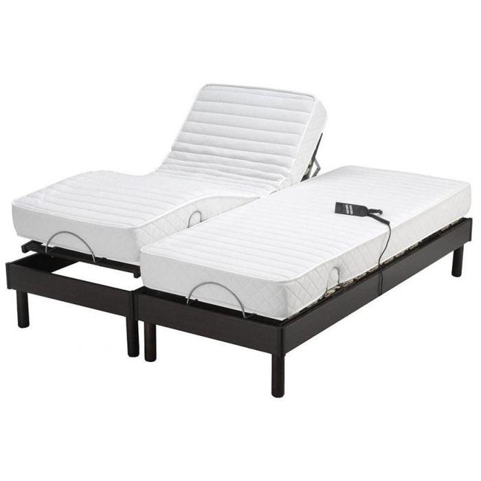 ensemble someo relax electrique confort 2x90x190 achat vente ensemble literie cdiscount. Black Bedroom Furniture Sets. Home Design Ideas
