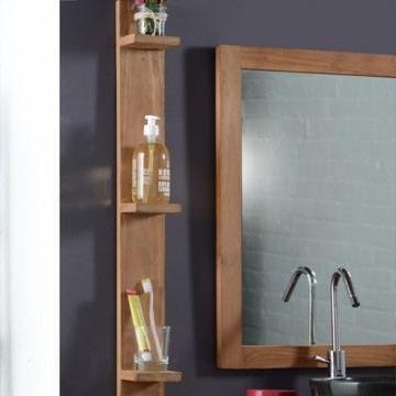 etag re murale de salle de bain en teck bahia achat. Black Bedroom Furniture Sets. Home Design Ideas