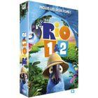 DVD FILM DVD Coffret  Rio : Rio 1 ; Rio 2