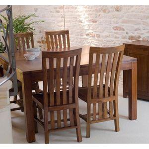 Ensemble table et chaise salle a manger en bois achat - Ensemble table et chaise salle a manger pas cher ...