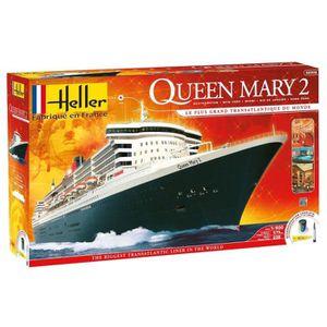 MAQUETTE DE BATEAU HELLER JOUSTRA Queen Mary 2