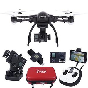 DRONE TecTecTec Drone DPRO1 - Pack Ultracomplet avec Dro
