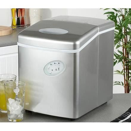 Machine gla ons 3 tailles rendement 15kg 24h achat vente machine glacons cdiscount - Machine a glacon kube ...