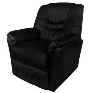 Fauteuil massant relaxant de massages noir achat vente fauteuil polyur th - Fauteuil massant relaxant ...