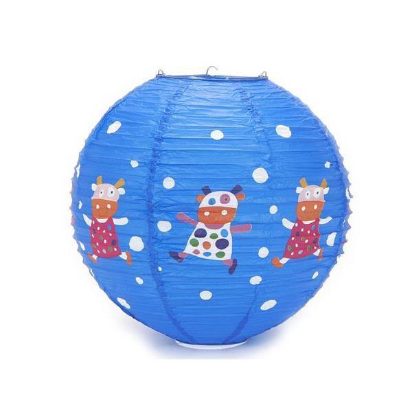 boule japonaise plafond bleu enfant deco vache achat vente boule japonaise plafond ble. Black Bedroom Furniture Sets. Home Design Ideas