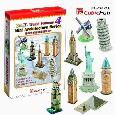 puzzle 3d s rie mini architectures monument achat vente puzzle cdiscount. Black Bedroom Furniture Sets. Home Design Ideas