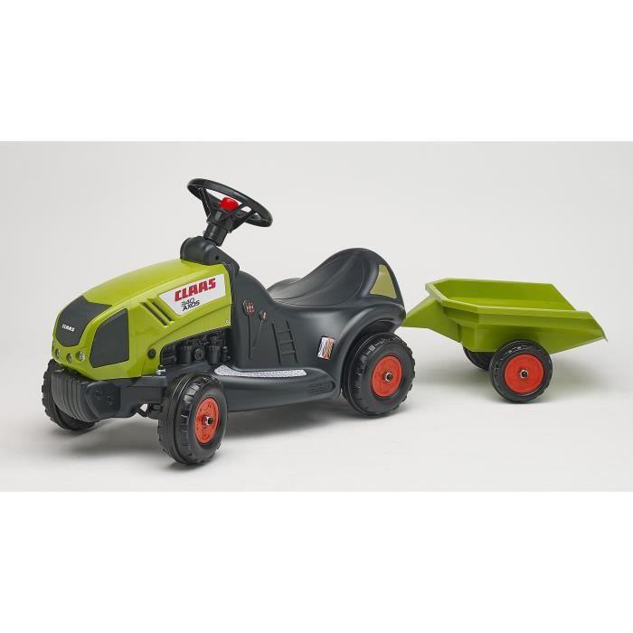 Falk porteur tracteur claas axos 340 remorque achat - Remorque tracteur enfant ...