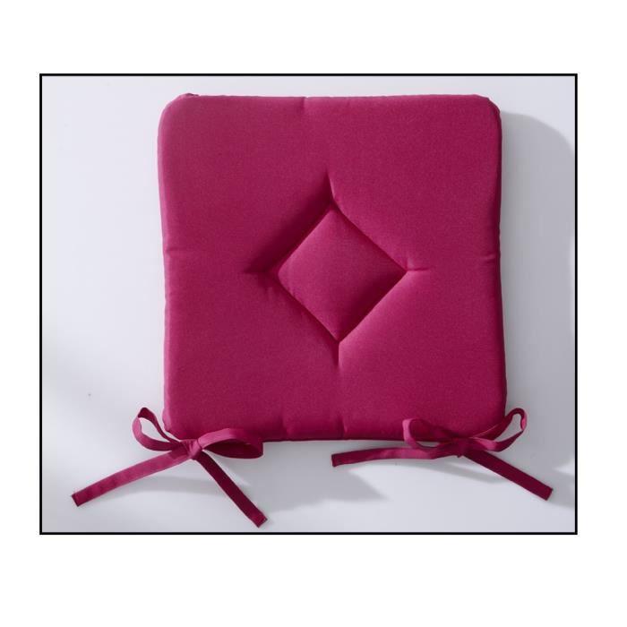 galette de chaise 40x40 cm jus de myrtille achat vente coussin de chaise cdiscount. Black Bedroom Furniture Sets. Home Design Ideas