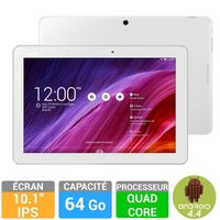 "ASUS MeMO Pad 10.1"" 64Go Blanche (ME103K-1B002A)"