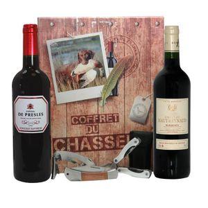 COFFRET CADEAU VIN Coffret Chasseur Vin et accessoires
