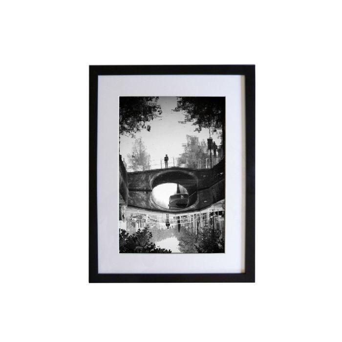 Photographie encadr e sous verre reflet d 39 automne achat vente tablea - Cadre sous verre ikea ...