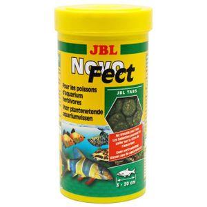 JBL 400 tablettes alimentaire Novofect - Pour poisson herbivore - 250ml