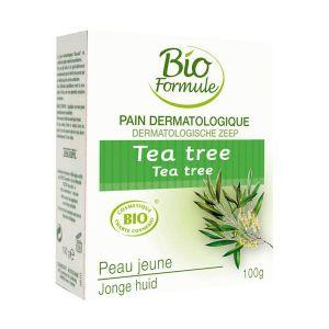 SAVON - SYNDETS Pain dermatologique Tea Tree BIO - 100 g - Biof…
