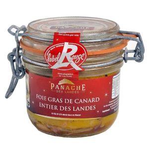 FOIE GRAS PANACHE DES LANDES Foie Gras de Canard Entier Labe