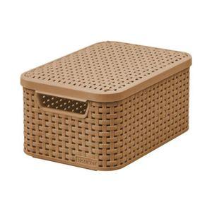 panier de rangement avec couvercle achat vente panier de rangement avec couvercle pas cher. Black Bedroom Furniture Sets. Home Design Ideas