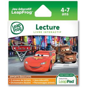 LIVRE INTERACTIF CARS 2 Livre Animé Interactif Jeu Explorer