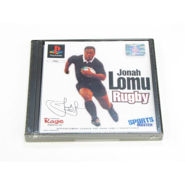 JEUX PS1  - Jonah Lomu Rugby
