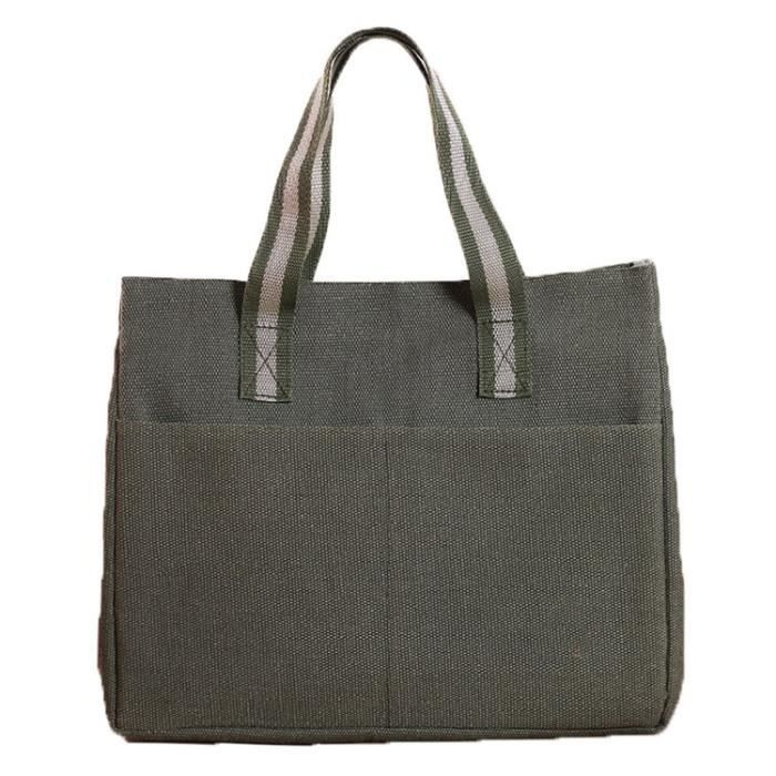 zxke sac femme couleur unie sac d jeuner isotherme bo tes repas achat vente zxke sac femme. Black Bedroom Furniture Sets. Home Design Ideas