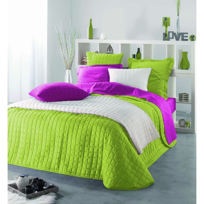 housse de coussin 60x60 cm microfibre venus fuschia. Black Bedroom Furniture Sets. Home Design Ideas