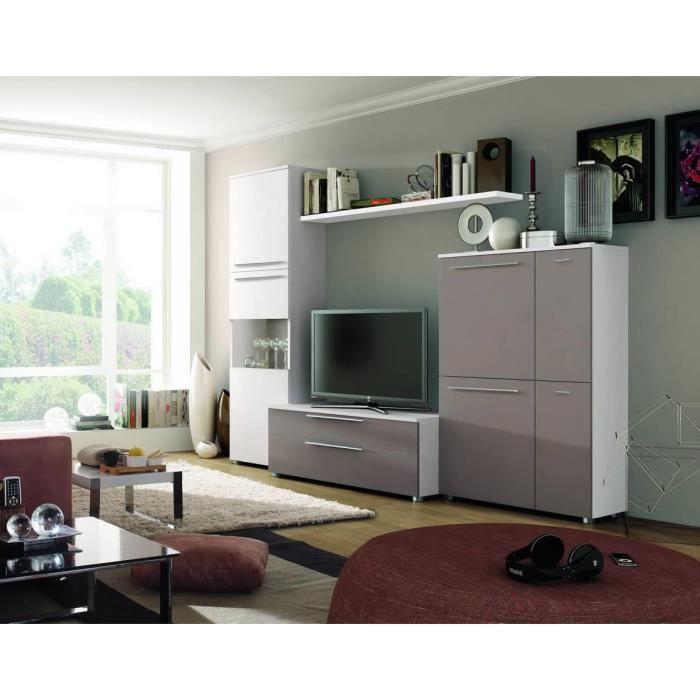 ensemble bibliotheque meuble tv vitre s avec achat. Black Bedroom Furniture Sets. Home Design Ideas