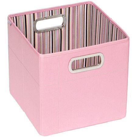 boite de rangement haute rose achat vente boite de. Black Bedroom Furniture Sets. Home Design Ideas