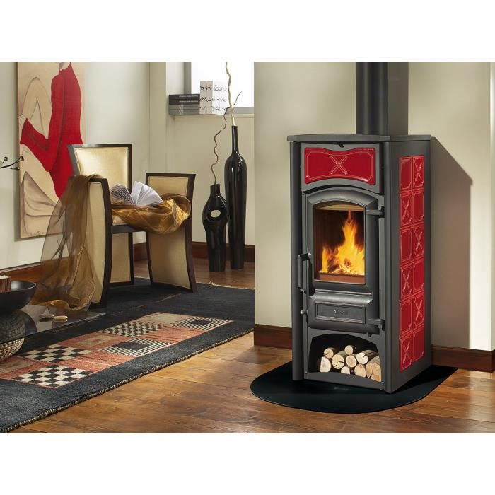 po le a bois nordica fiorella achat vente po le. Black Bedroom Furniture Sets. Home Design Ideas