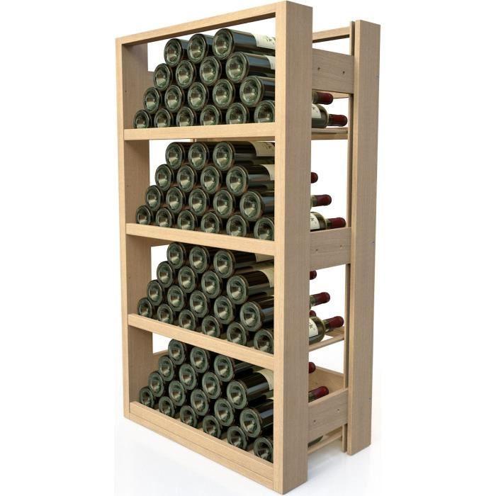visiorack meuble de rangement en bois pour 72 achat vente meuble range bouteille. Black Bedroom Furniture Sets. Home Design Ideas