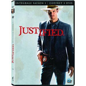 DVD Coffret justified, saison 1