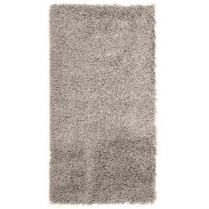 tapis shaggy descente de lit longue m che gris achat vente tapis soldes d t cdiscount. Black Bedroom Furniture Sets. Home Design Ideas