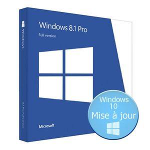 LOGICIEL À TÉLÉCHARGER Windows 8.1 Professionnel - 32/64 Bits - A Télécha