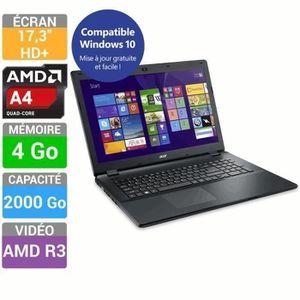 ACER Ordinateur Portable Aspire E5-721-437K AMD A4