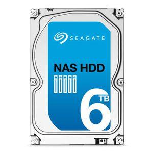 DISQUE DUR INTERNE Seagate Disque dur NAS HDD 6To Rescue ST6000VN0031