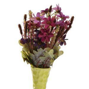 Bouquet de fleur artificielle pour mariage achat vente for Soldes fleurs artificielles