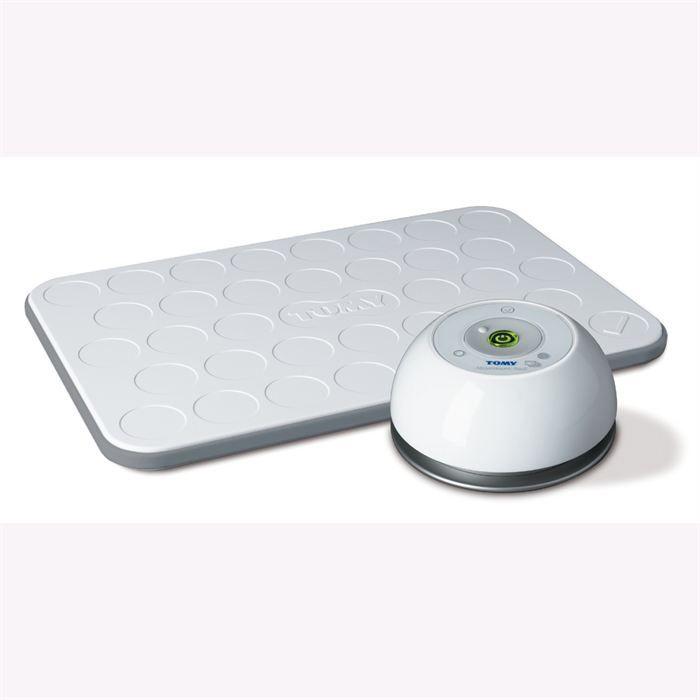 tomy tapis d tecteur de mouvement tsp500 blanc achat. Black Bedroom Furniture Sets. Home Design Ideas