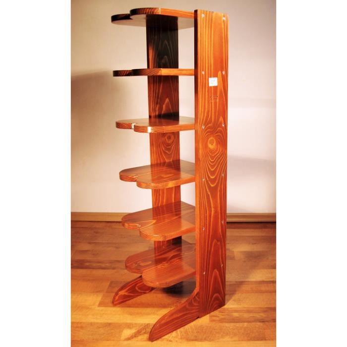 fabriquer un meuble a chaussure en bois range chaussures tag 6 en bois massif merisier achat