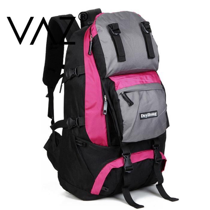 vaz sac dos randonn e professionnel home et femme tanche nylon backpacks 40l pour le sport. Black Bedroom Furniture Sets. Home Design Ideas