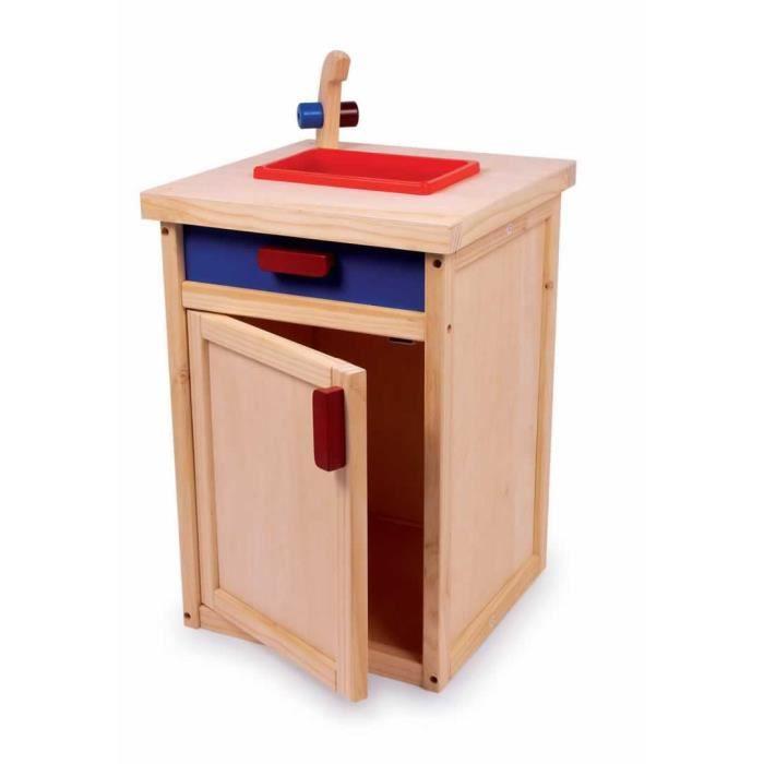 vier de cuisine en bois pour enfant elsie achat vente dinette cuisine les soldes sur. Black Bedroom Furniture Sets. Home Design Ideas
