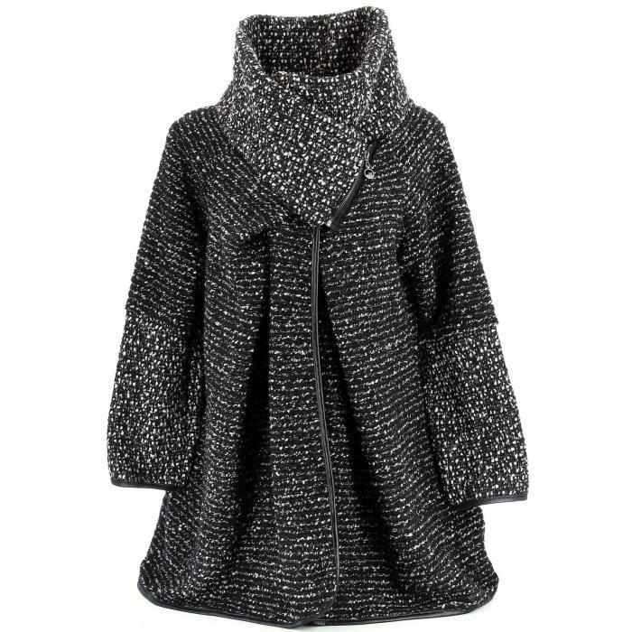f95ba36ac7a manteau femme boule