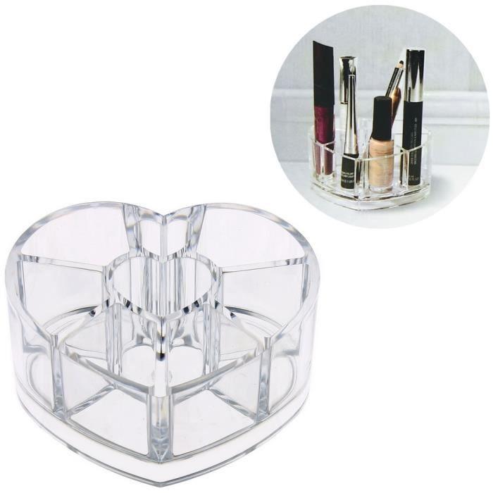 Organisateur de cosm tique boite bijoux make up - Boite rangement cosmetique ...