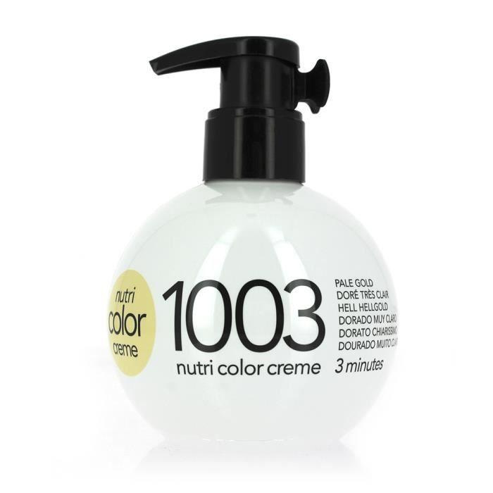 coloration coloration ni1003 dor trs clair 250ml nut - Revlon Coloration