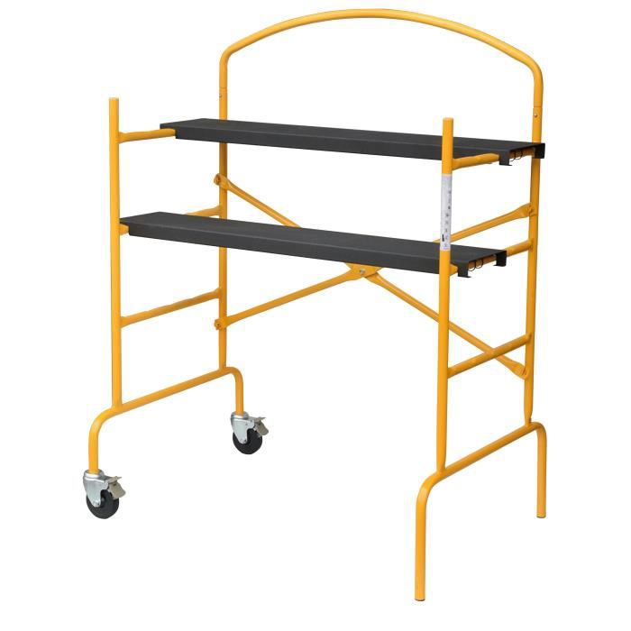 Chafaudage d montable stand up avec garde corps pour for Achat garde corps exterieur