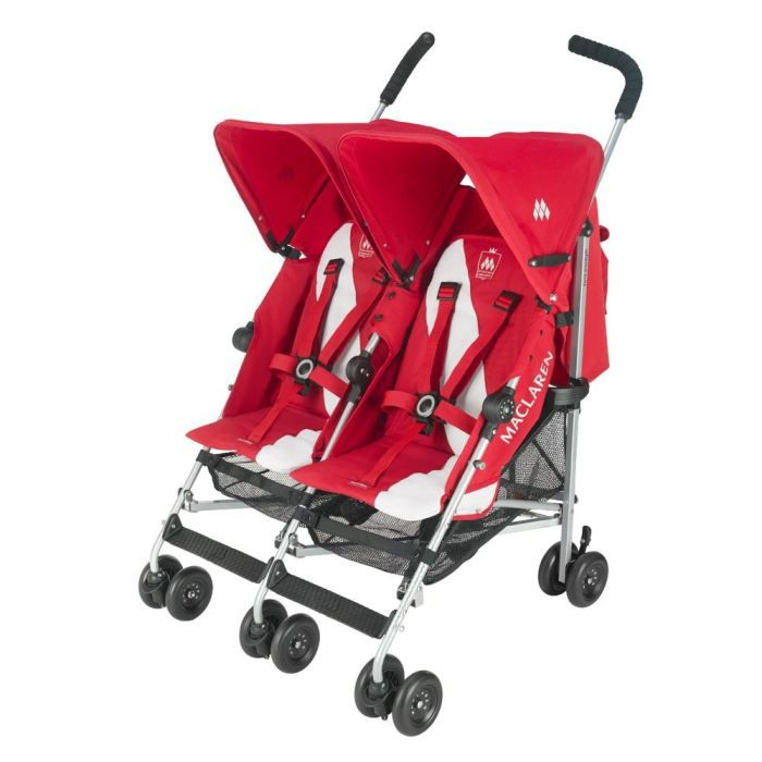 maclaren twin triumph scarlet 2012 rouge achat vente. Black Bedroom Furniture Sets. Home Design Ideas