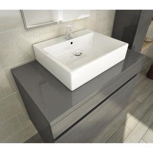 Meuble sous vasque 50 cm achat vente meuble sous for Vasque salle de bain 80 cm