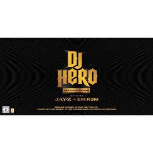JEUX WII DJ Hero Bundle - Renegade Edition [import allem…