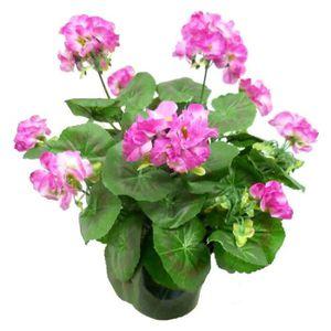 Geranium artificiel achat vente geranium artificiel for Geranium artificiel jardiniere