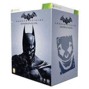 JEUX XBOX 360 COFFRET COLLECTOR BATMAN ARKHAM