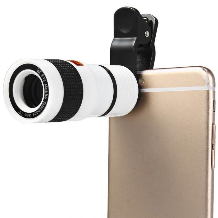 8x zoom t l phone mobile t lescope lentille pour samsung. Black Bedroom Furniture Sets. Home Design Ideas