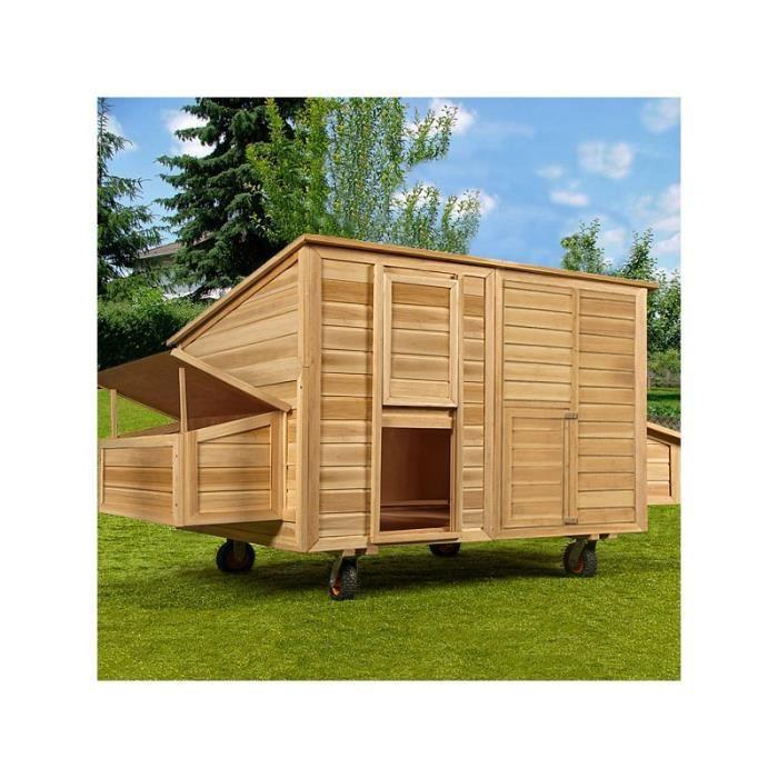 poulailler mobile sur roue achat vente poulailler poulailler mobile sur roue cdiscount. Black Bedroom Furniture Sets. Home Design Ideas