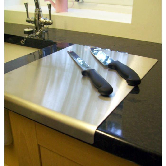 acier inoxydable plan de travail conomiseur achat vente set accessoire cuisine acier. Black Bedroom Furniture Sets. Home Design Ideas